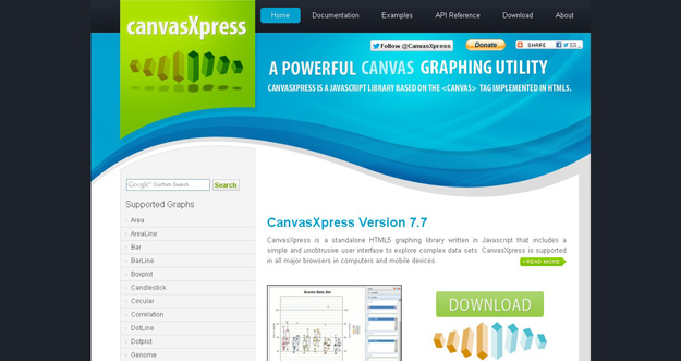CanvasXpress