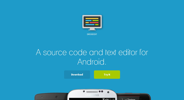 mobile text editor
