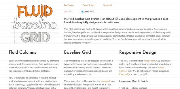推荐10个创建响应式布局的网格框架-来自沈超飞的IT博客 第10张