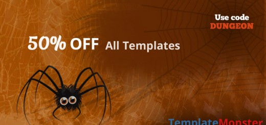 Halloween Promo at TemplateMonster