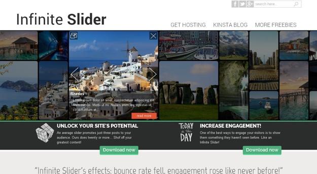 Infinite-Slider