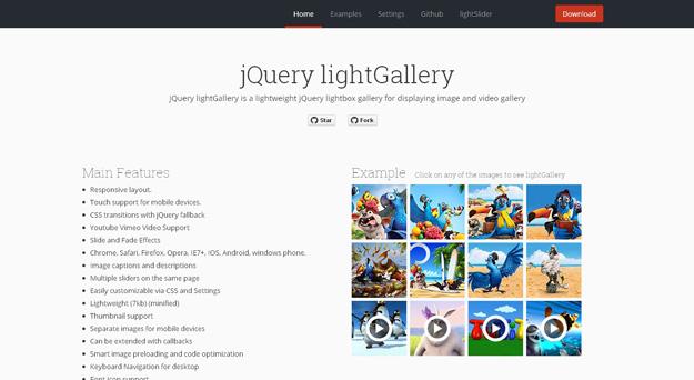 20款优秀 jQuery Lightbox 灯箱插件-前端里