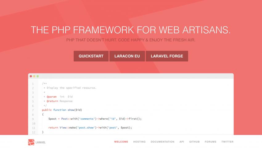 Laravel - Best PHP Framework 2014