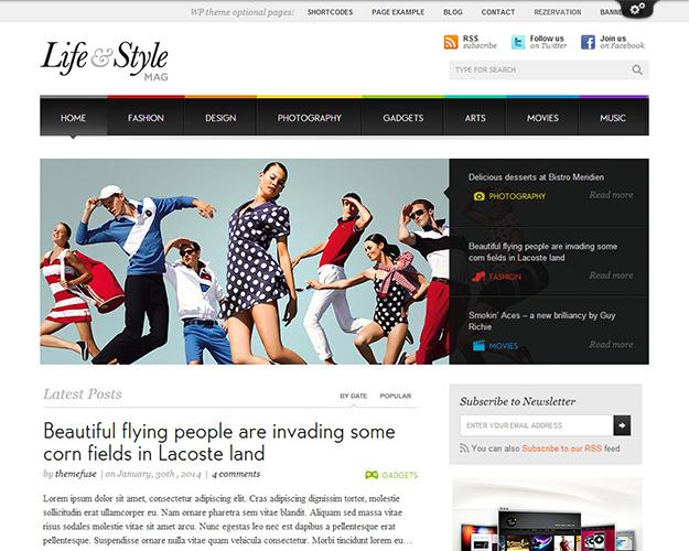 20款時尚的WordPress 企業模板【免費主題下載】