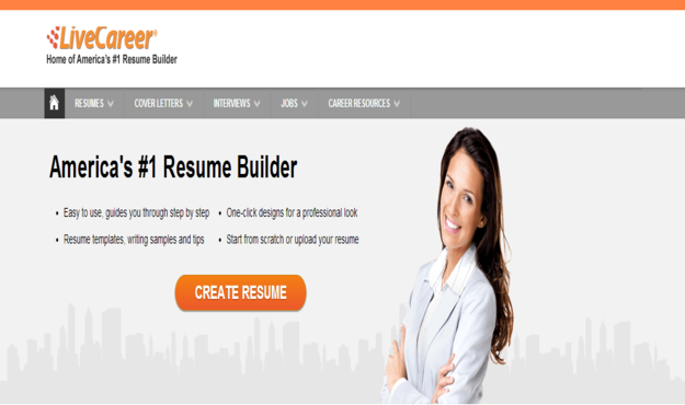 LiveCareer. Resume Builder Online  Livecareer Resume Builder
