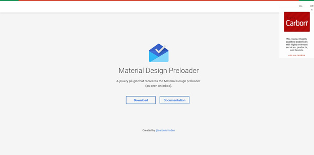Material Preloader