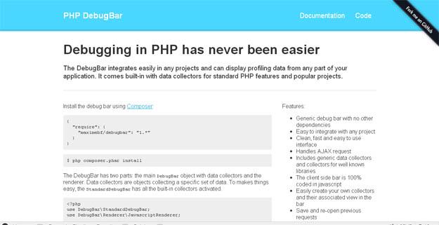 PHP DebugBar