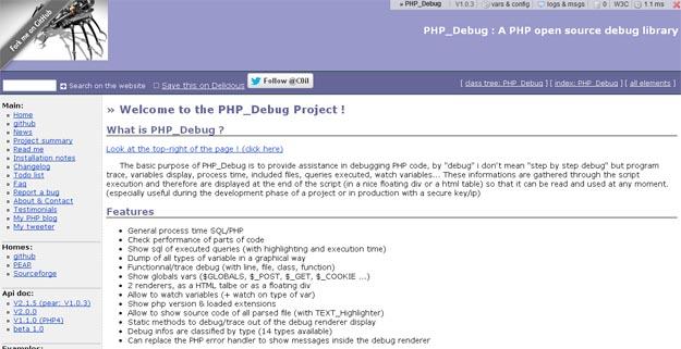 PHP_Debug
