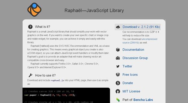 Raphaël—JavaScript-Library