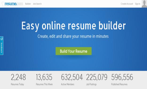 easy online resume builder