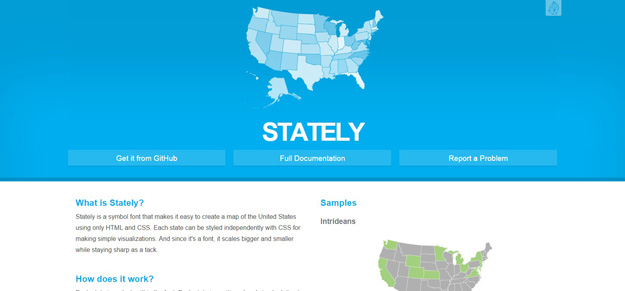 Stately Is Javascript Library That Is Developed To Generate Us Maps The Library Is Comparably Lightweight Considering That You Can Add Interactive Elements