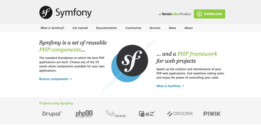 Symfony2 PHP Framework