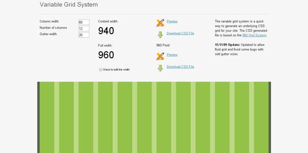 推荐12个创建响应式布局的优秀网格框架
