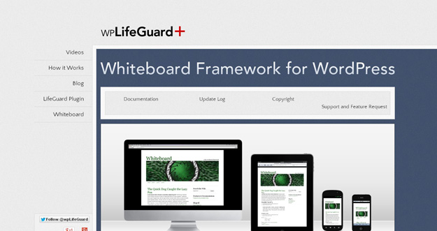 Whiteboard Framework