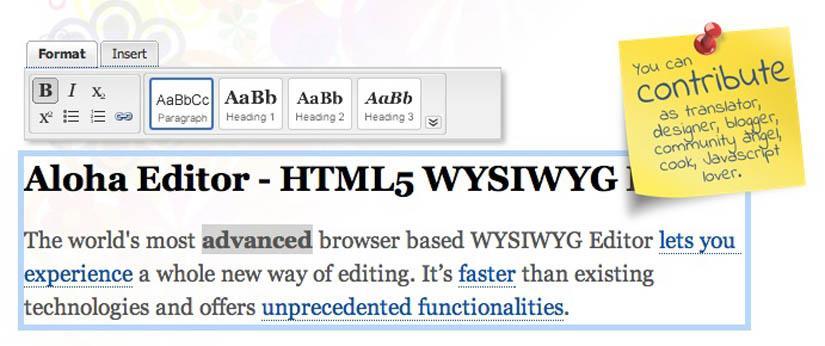 aloha-html5-editor