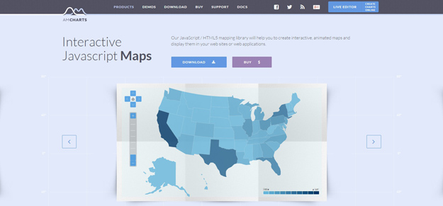 Best javascript libraries for creating interactive maps code geekz amcharts gumiabroncs Image collections
