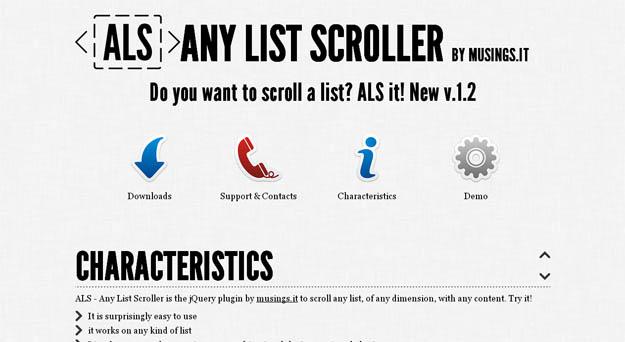 anylistscroller