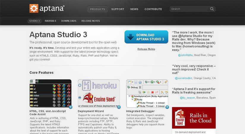 aptana-studio-html5-editor