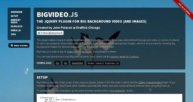 10 Best jQuery Video Plugins for Developers   Code Geekz