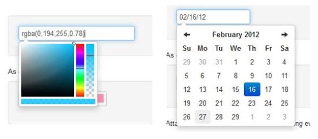 bootstrap-datepicker-calendar