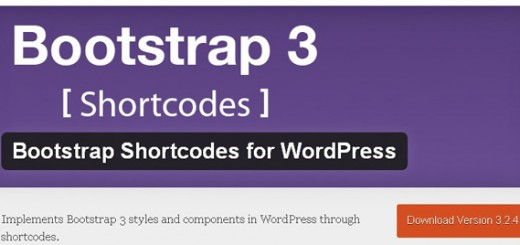 bootstrap3 shortcodes