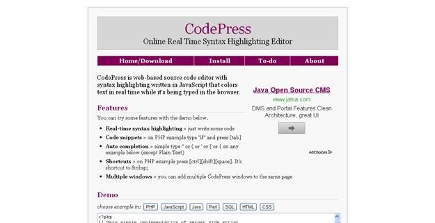 codepress