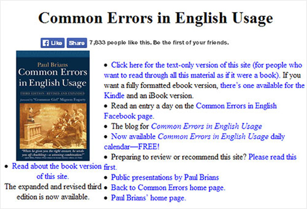 common essay errors Avoid common writing mistakes with the world's top essay checker the ginger essay checker helps you write better papers instantly.