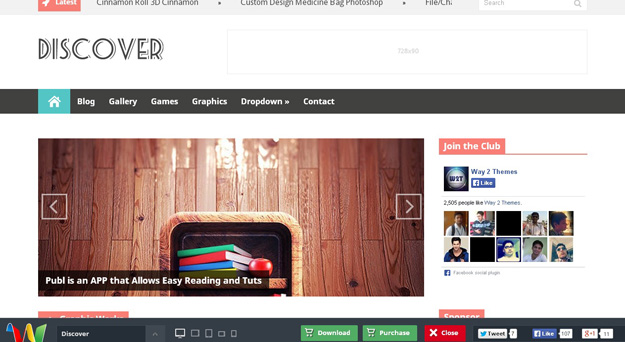 30 free blogger templates for 2014 code geekz discover is a responsive magazine style blogger template with flat and modern design discover is a free blogger template that is packed with a tons of pronofoot35fo Choice Image