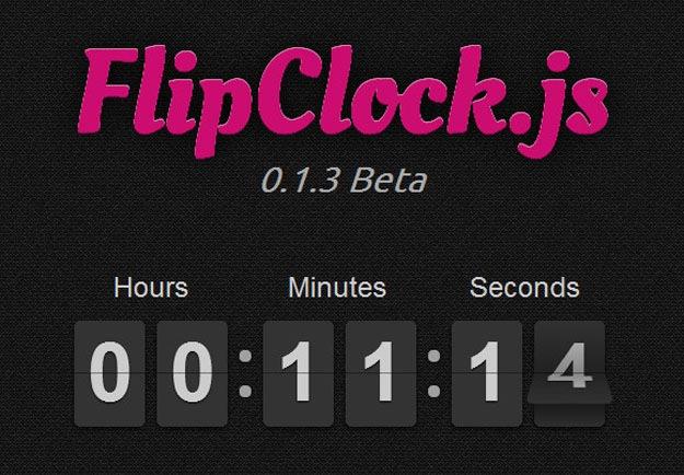 flipclock-js