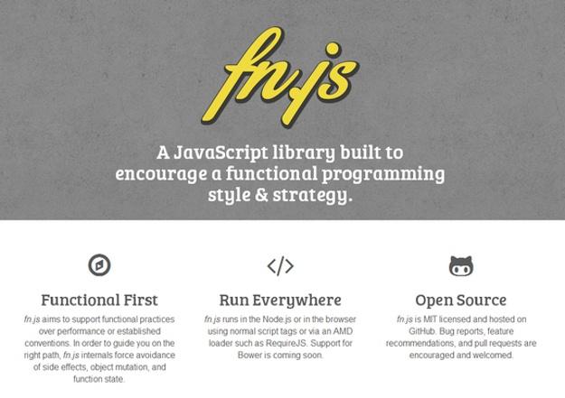 2014年3月新鲜出炉的最佳 JavaScript 工具库