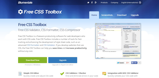free css toolbox
