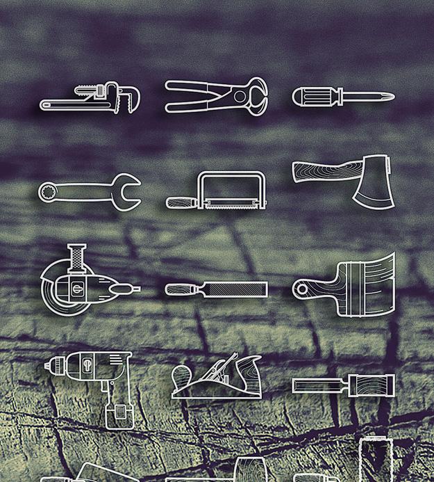 free icon tool set