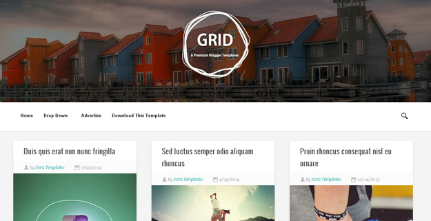 30 free blogger templates for 2014 code geekz grid is a grid based responsive minimalistic blogger theme suitable for any kind of creative personal or business use it is the fully responsive html5 accmission