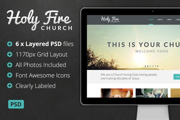 holy-fire-church-psd-theme