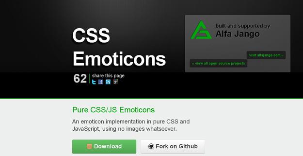 jQuery CSS Emoticons Plugin
