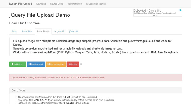 15 Best jQuery File Upload Plugins   Code Geekz