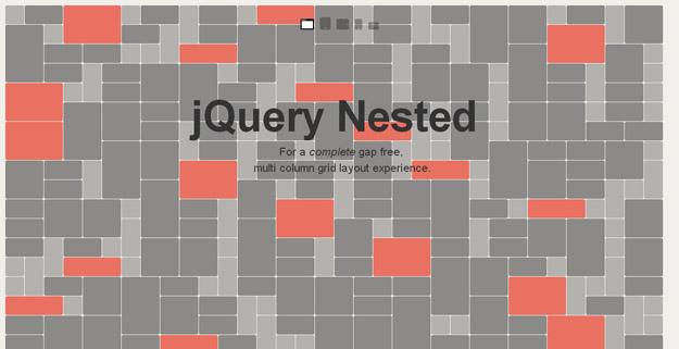 15款 jQuery 网格布局插件(Grid Plugins)