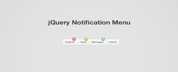 jquery notification-menu