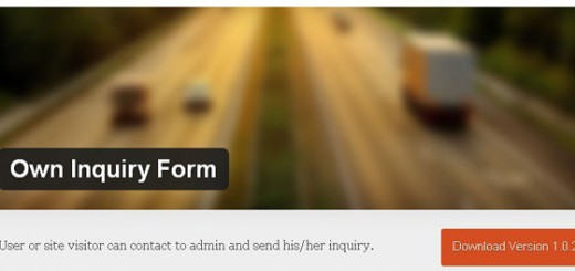 own inquiry form