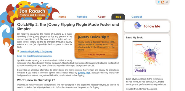 12 Best jQuery Flipbook Plugins | Code Geekz