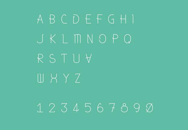 字体下载大宝库:30款好看的免费英文字体