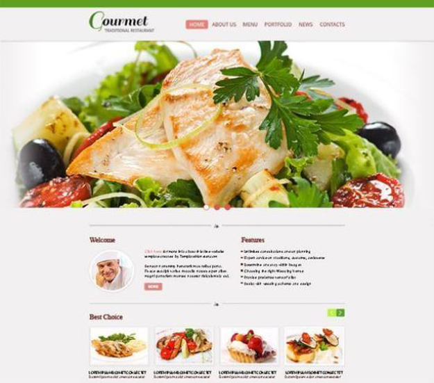 restaurant-website-template