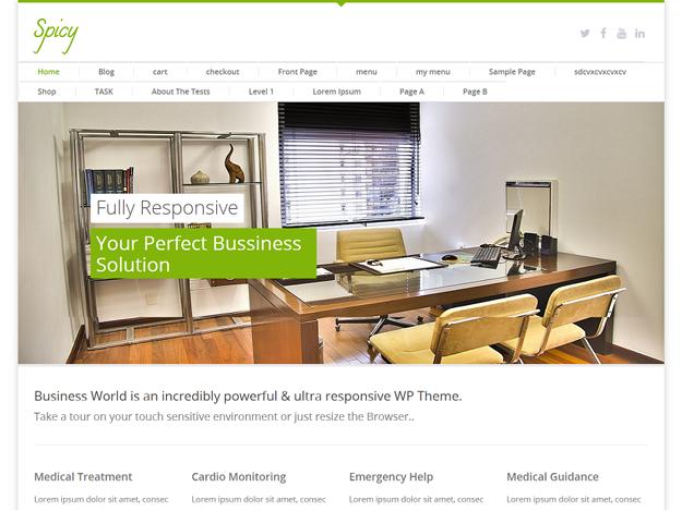 2015年免费的25款 WordPress 网站模板