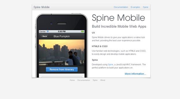 spine mobile