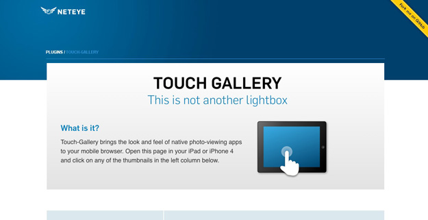 touch gallery
