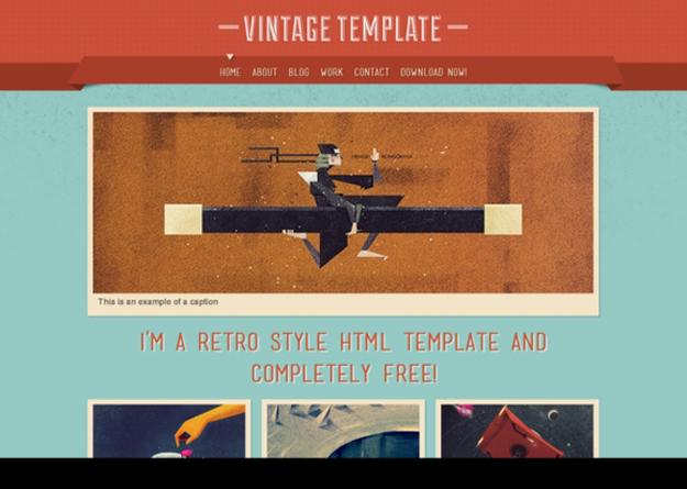 vintage-template
