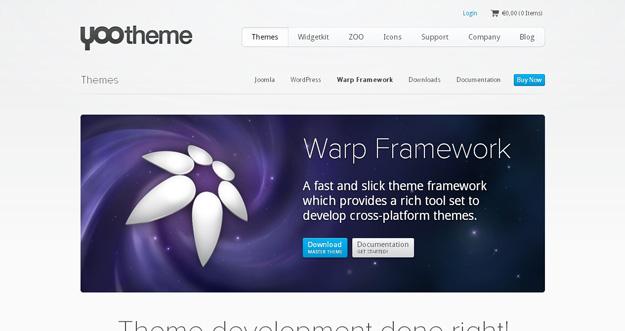 warp framework