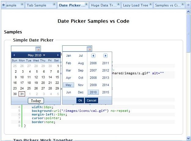 Year Calendar Jquery Plugin : Jquery date picker plugins to plan your tasks code geekz