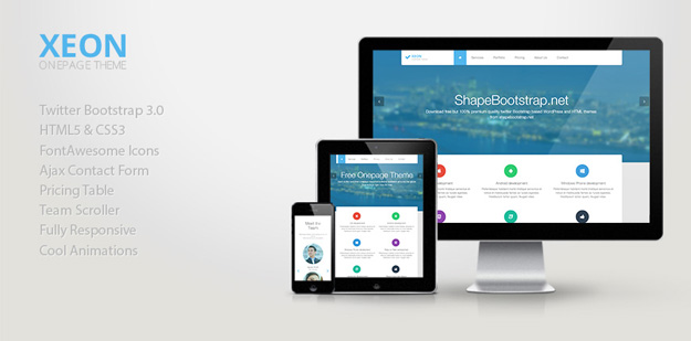 30款最好的 Bootstrap 3.0 免费主题和模板