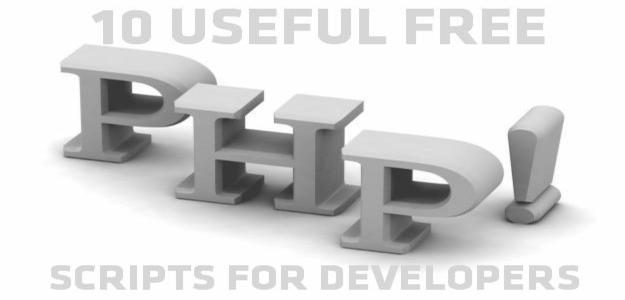 10 Useful Free PHP Scripts for Developers | Code Geekz